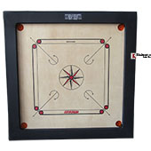 HERCULES  Carrom board Broad Border Full Size
