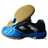 Cosco Pro Court Badminton Shoes Blue and Black