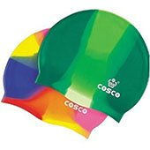 Cosco Silicone Multi Color Swimming Cap