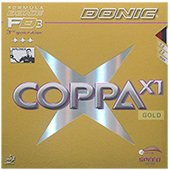 Donic Coppa X1 Gold Table Tennis Rubber