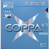 Donic Coppa X2 Platin Soft Table Tennis Rubber