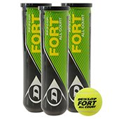Dunlop Fort All Court Tennis Balls 3 Cane