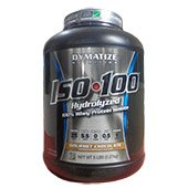 Dymatize ISO 100 Protein 5lbs Gourmet Chocolate