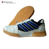 ESS Nonmarking Court Badminton Shoe White and Blue