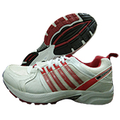 ESS 1103 (Jogger) Running Shoes White and Red