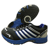 ESS 1102 (Jogger) Running Shoes Black and Blue