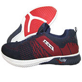 ESS Fly Running Shoes Blue and Red