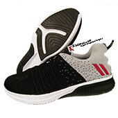 ESS Fly Running Shoes BLACK AND GREY