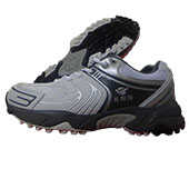 ESS Graphite Gold Cricket Shoes White and Gray