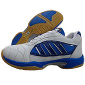 ESS Badminton Shoes White and Blue