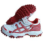ESS Pro Stud Cricket Shoes Red