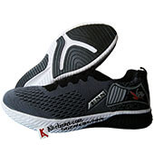 ESS Fly Running Shoes Grey and Black