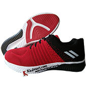 ESS Fly Running Shoes Red and Black
