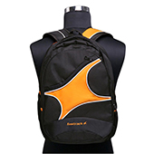 Fastrack Men Polyester Black Laptop Backpack