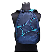 Fastrack Men Polyester Blue Laptop Backpack