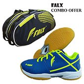 Falx Badminton shoes Special Combo Offer
