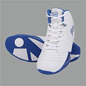 Fila Reversal White and Blue Basketball Shoes