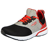Force 10 (From Liberty)Mens Running Shoes Black and Red