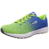 Force 10 (From Liberty)Mens Running Shoes Lime and Blue