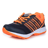 Force 10 (From Liberty)Mens Running Shoes Blue and Orange