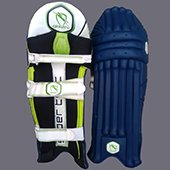 Gravity Super Test Cricket Batting Leg Guard Blue