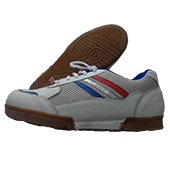 Gravity Court Badminton Shoes White and Blue