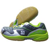 Gravity 89 LTD Badminton Shoe Lime and Grey