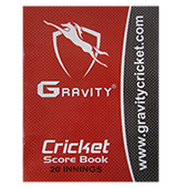 Gravity 20 Innings Cricket Score Book Set of 3