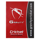 Gravity 40 Innings Cricket Score Book Set of 3