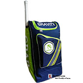 Gravity Grab 1 Cricket Kit Bag Blue and Lime