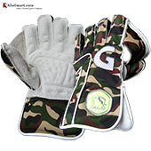 Gravity Grand Edition Wicket Keeping Gloves Army Green