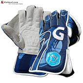 Gravity New Edition Wicket Keeping Gloves Army Blue