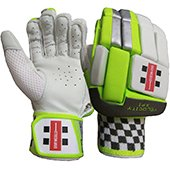 Gray Nicolls Velocity XP1 GN6 Cricket Batting Gloves Men White Black and Lime