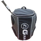 Gravity Badminton Kit Bag Black and Gray