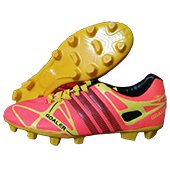 Gravity Goaler Football Shoes Orange and Yellow