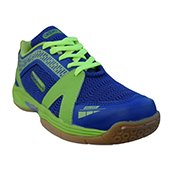 Gowin Max Grip Badminton Shoes Blue and Lime