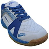 Gowin Max Grip Badminton Shoes White and Blue