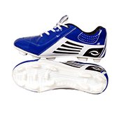 HDL Pride Football Stud Shoes White and Blue