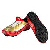 HDL Spirit Football Stud Shoes Red and Gold