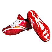 HDL Comfort Football Stud Shoes Red and White