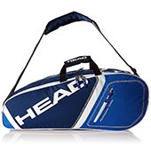 Head Core 6r Combi Tennis Kit Bag Blue