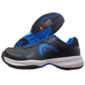 HEAD Lazor Tennis Shoe Black and Blue