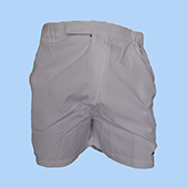 Head Badminton Shorts White Size Medium