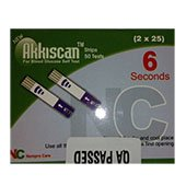 Akkiscan Blood Glucose Test Strip