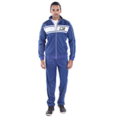 Invincible Poly Tricot Classic Warm Up Suit Midium