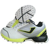 Jazba Sky Drive 100 Stud Cricket Shoes Lime