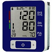 JSB DBP04 Digital Wrist Blood Pressure Monitor