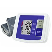JSB DBP05 Arm Blood Pressure Monitor (White and Blue)
