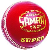 Khanna Samrat Super Leather Cricket Ball 3 Ball Set