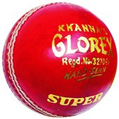 Khanna Glorex Super Leather Cricket Ball 3 Ball Set